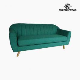 3-zitsbank dennenhout polyester groen