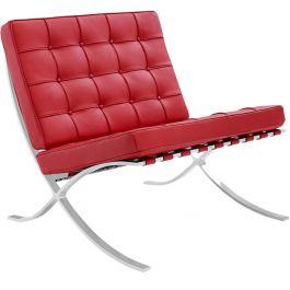 Barcelona Expo fauteuil rood
