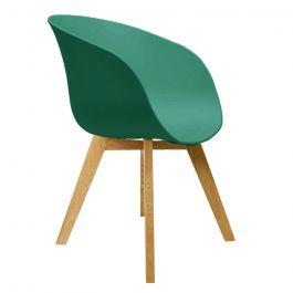 Noa groen design kuipstoel