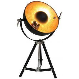 Golden sun tafellamp zwart/goud