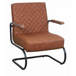Nero fauteuil cognac