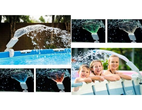 Intex 28089 LED Multicolor Zwembad Sproeier