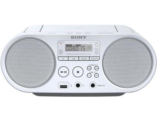 RADIO CD SONY ZS-PS50 WIT