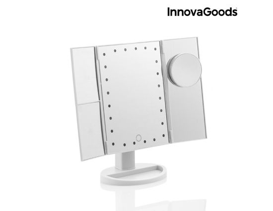 InnovaGoods Home 4-in-1 vergrotende ledspiegel