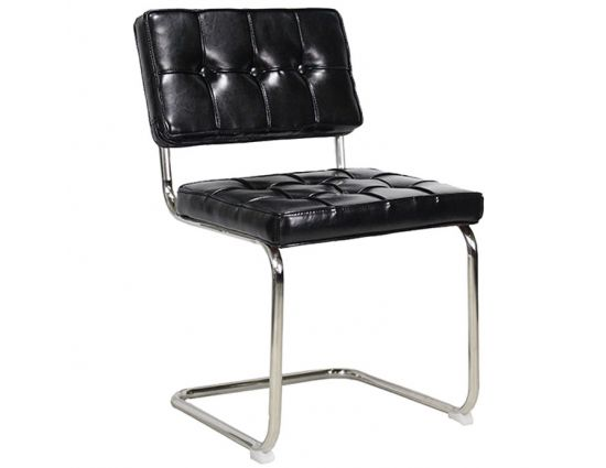 Eetkamerstoel Bauhaus Vintage zwart