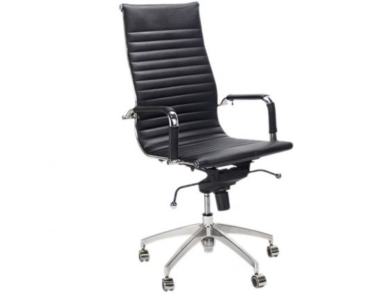 Bureaustoel Lyon zwart - Inspired by Charles and Ray Eames