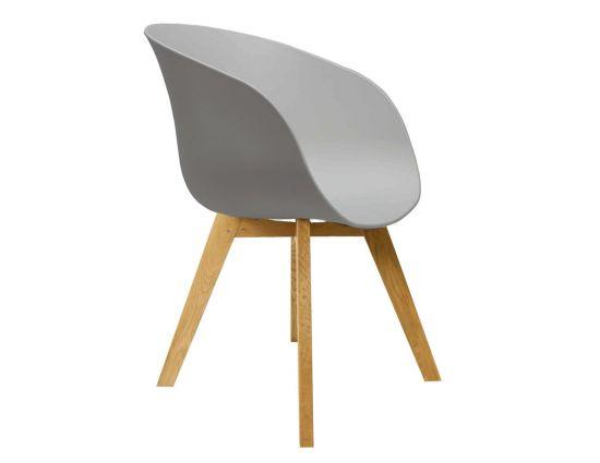 Noa grijs design kuipstoel