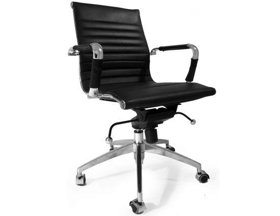 Bureaustoel Valencia zwart - Inspired by Charles and Ray Eames