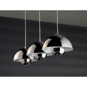 3- lichts hanglamp Roundy
