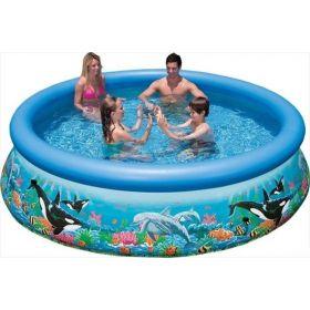 Intex Easy Set 28136GS Ocean Reef Zwembad 366x76cm + Pomp
