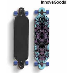 InnovaGoods Skate Longboard
