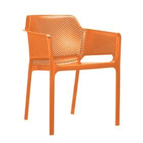 Tuinstoel Char oranje