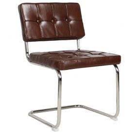 Eetkamerstoel Bauhaus Vintage bruin