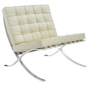 Barcelona Expo fauteuil creme