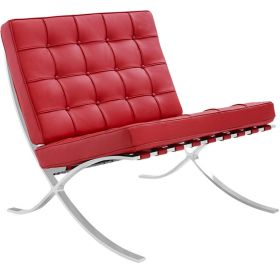 Barcelona Expo fauteuil rood