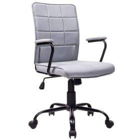 Bureaustoel Praag grijs