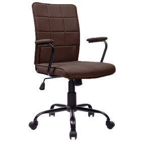 Bureaustoel Praag bruin