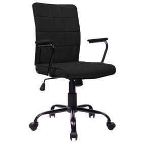 Bureaustoel Praag zwart