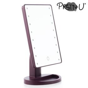 Pretty U tafelspiegel met led