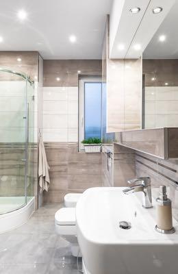 Verlichting badkamer spotjes
