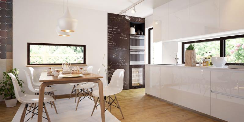 Verlichting keuken en eetkamer