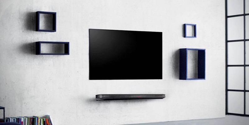 LG OLED65W8V OLED tv